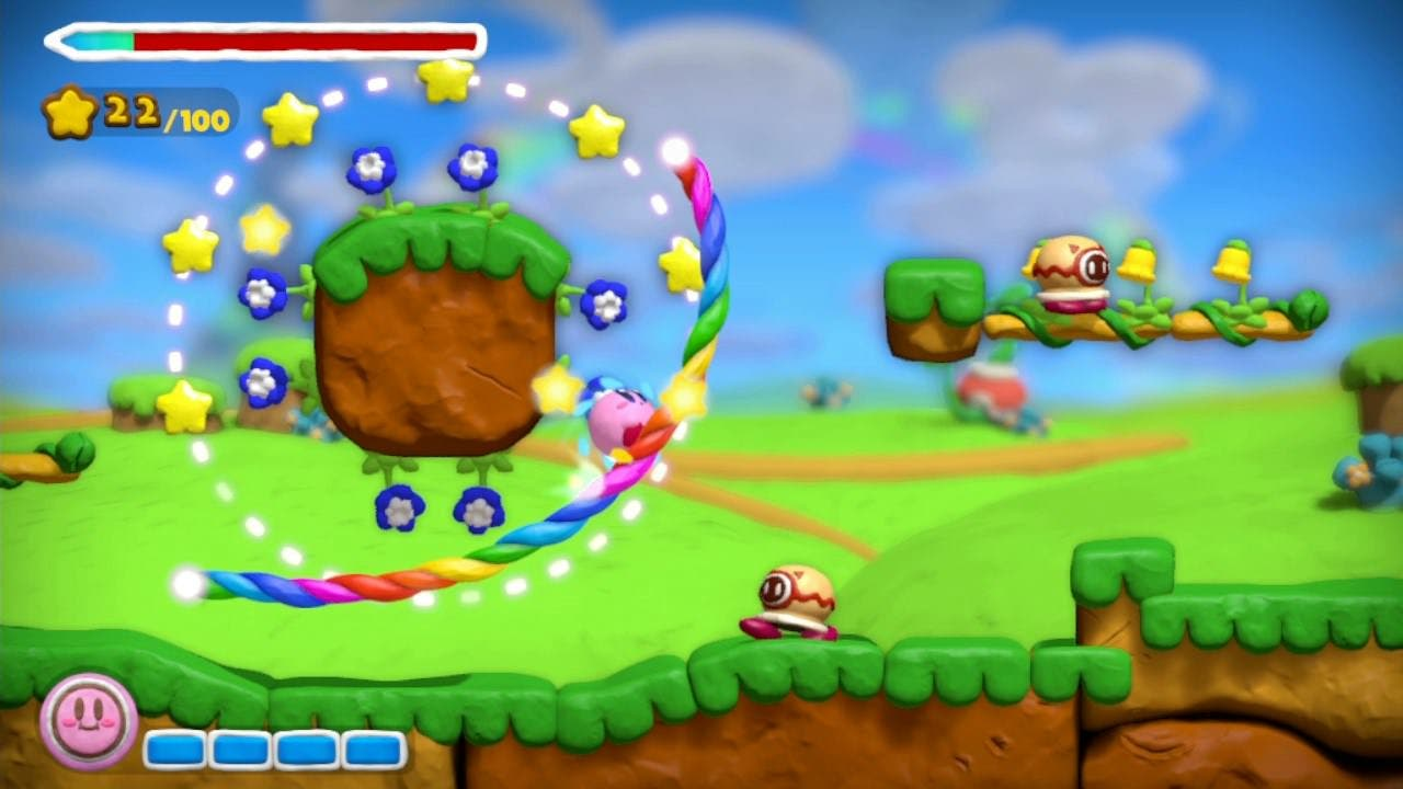 Se anuncia 'Kirby and the Rainbow Curse' para WiiU