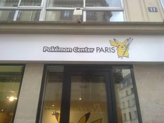 Imágenes del Centro Pokémon en Francia
