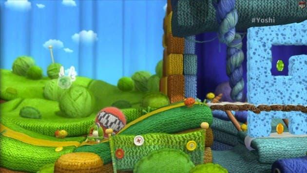 Impresiones de 'Yoshi's Wolly World' y gameplay