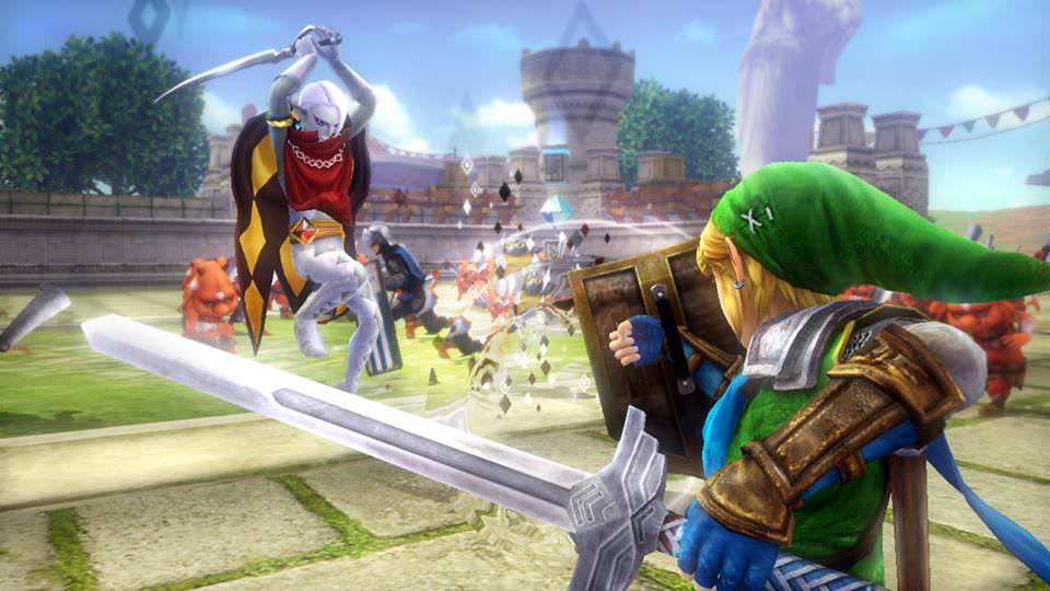 Gameplay de Dark Link en 'Hyrule Warriors'