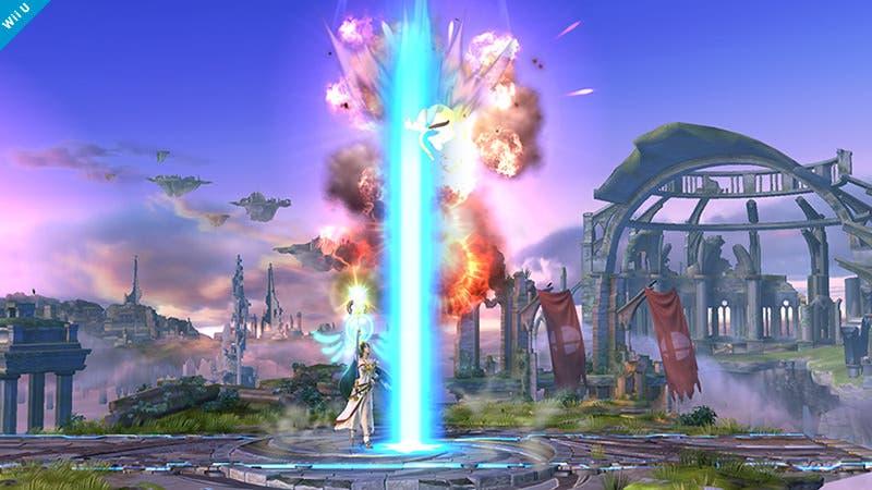 Detallados algunos de los ataques de Palutena en 'Super Smash Bros.'