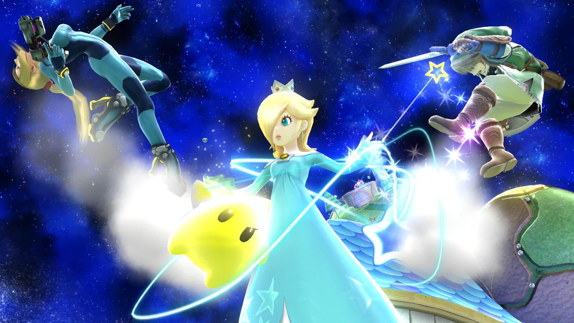 Nuevas capturas de 'Super Smash Bros.' centradas en Estela y Little Mac