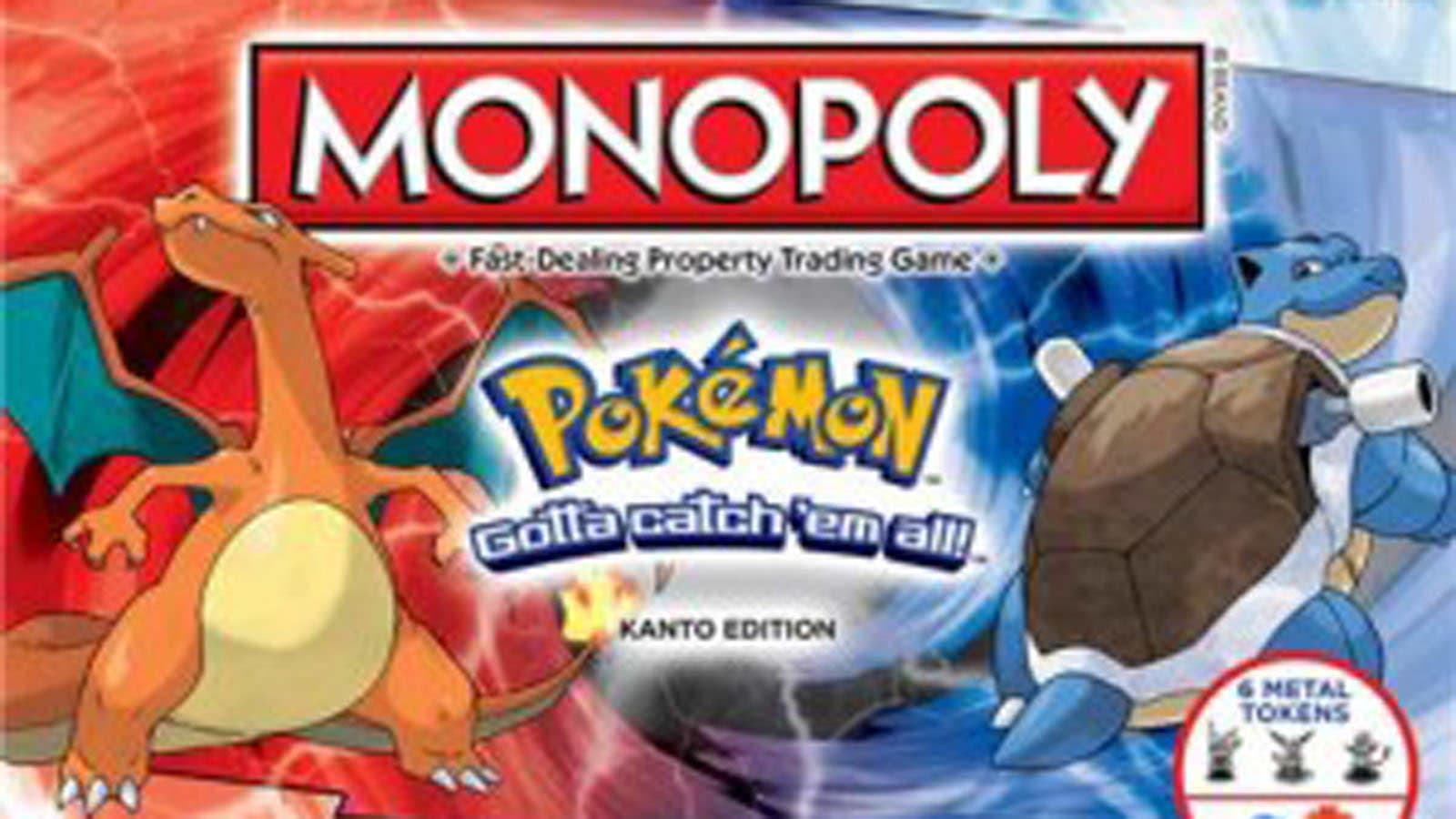 'Monopoly: Pokémon Kanto Edition' ya está disponible en GameStop