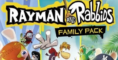 Amazon lista 'Rayman & Rabbids Family Pack' para 3DS
