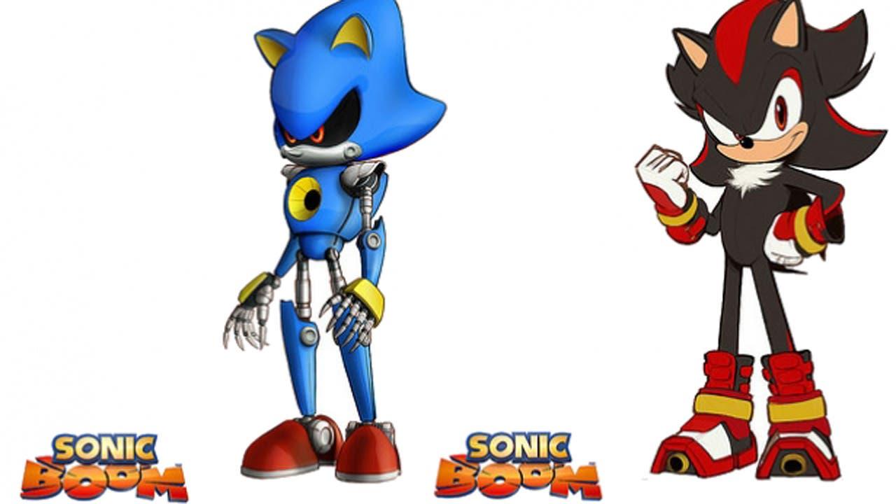 Nuevo tráiler de 'Sonic Boom', Metal Sonic y Shadow aparecerán en el juego