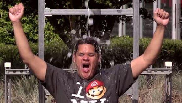 Reggie Fils-Aime se suma al Ice Bucket Challenge