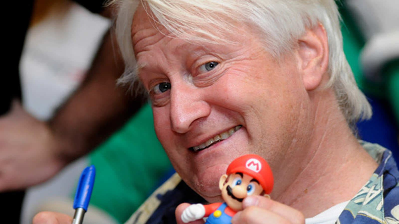 Charles Martinet muestra en Twitter su hype por Super Smash Bros. Ultimate