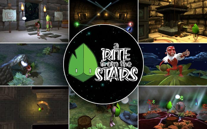 El estudio madrileño Risin' Goat traerá 'A Rite from the Stars' a Wii U