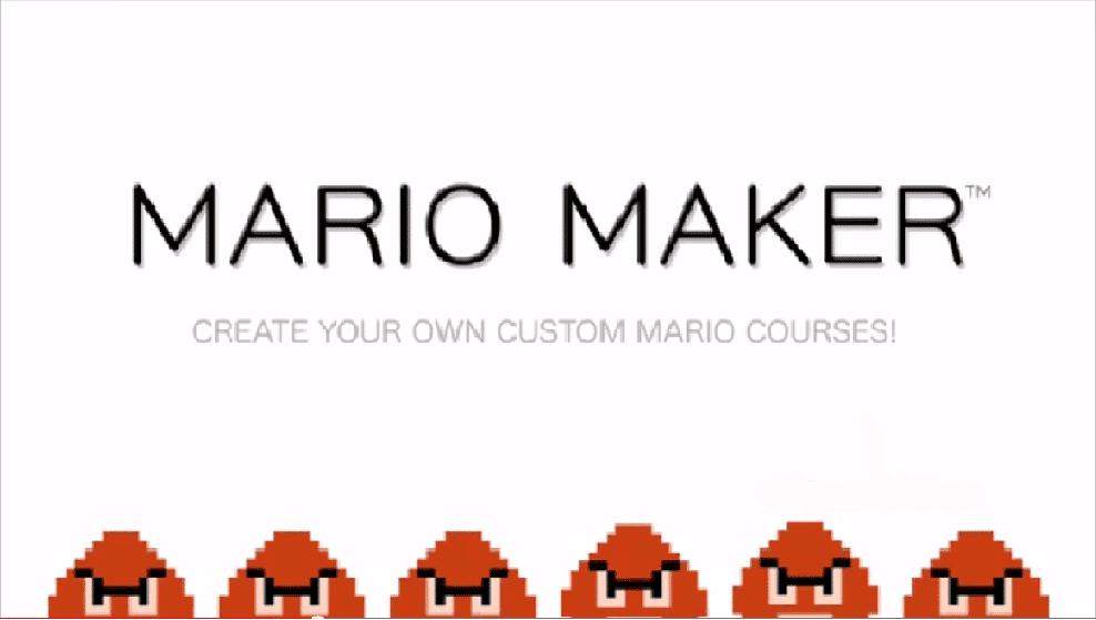 Otras franquicias de Nintendo podrían tener el enfoque de 'Mario Maker' si éste tiene éxito