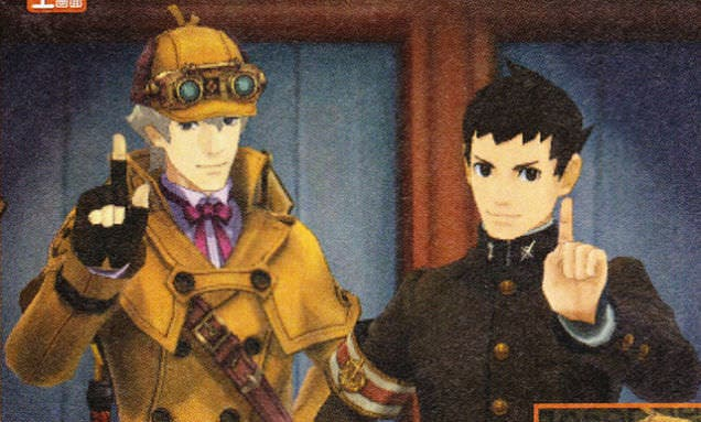 Nuevos vídeos de 'The Great Ace Attorney'