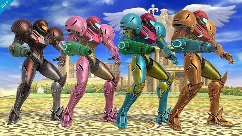 Los personajes de 'Super Smash Bros. Wii U / 3DS' contarán con hasta ocho variaciones de color
