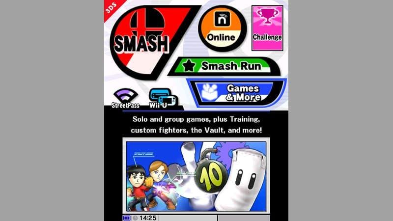Detallados los menús de 'Super Smash Bros. 3DS', la edición especial de 3DS XL llegará a EE.UU.