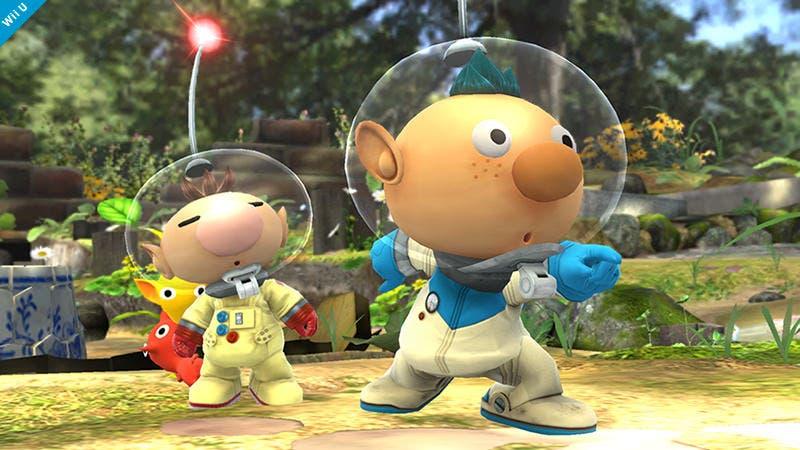 Alph se une a la batalla en 'Super Smash Bros. Wii U / 3DS' como variante de Olimar