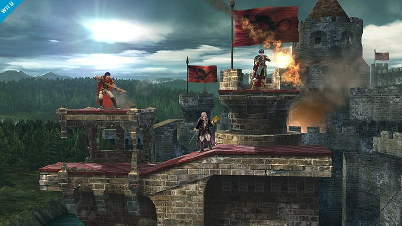 El Castillo Asediado de 'Super Smash Bros. Brawl' regresa a 'Super Smash Bros. Wii U'