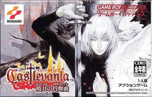 Tráiler de lanzamiento de 'Castlevania: Aria of Sorrow'