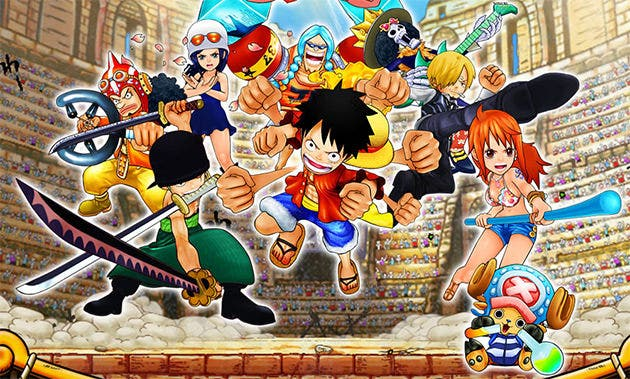 Así funciona amiibo en 'One Piece: Super Grand Battle X' sobre una New Nintendo 3DS