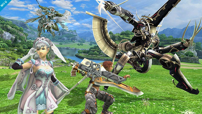 Trofeos de Xenoblade en 'Super Smash Bros for Wii U'