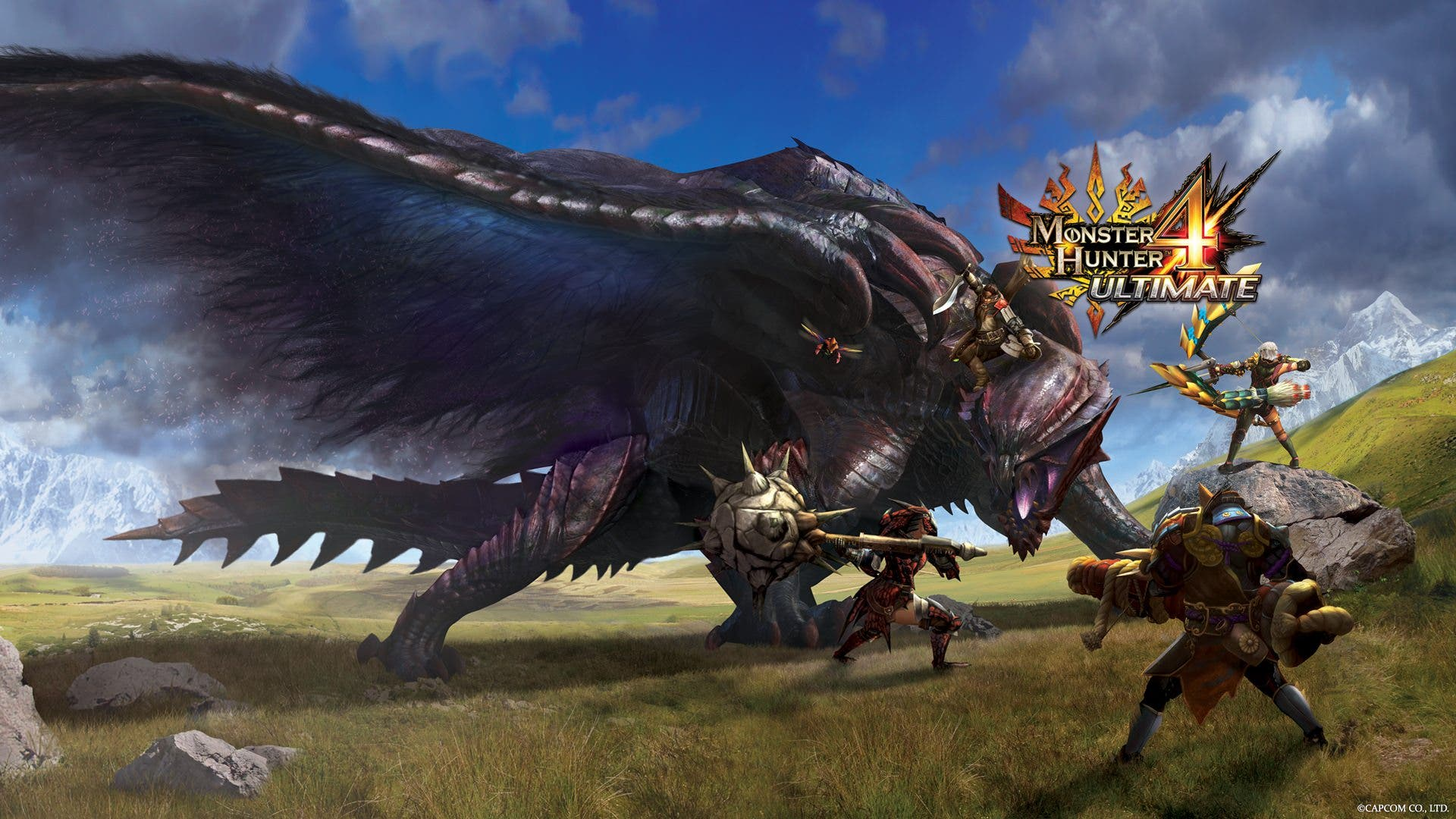 Capcom se luce con el modo multijugador de 'Monster Hunter 4 Ultimate' en inglés