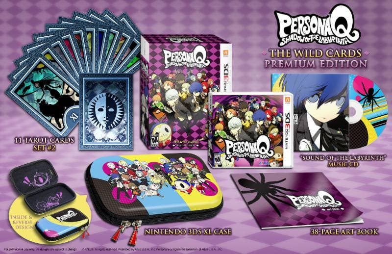Unboxing de la edición premium de 'Persona Q: Shadow of the Labyrinth'