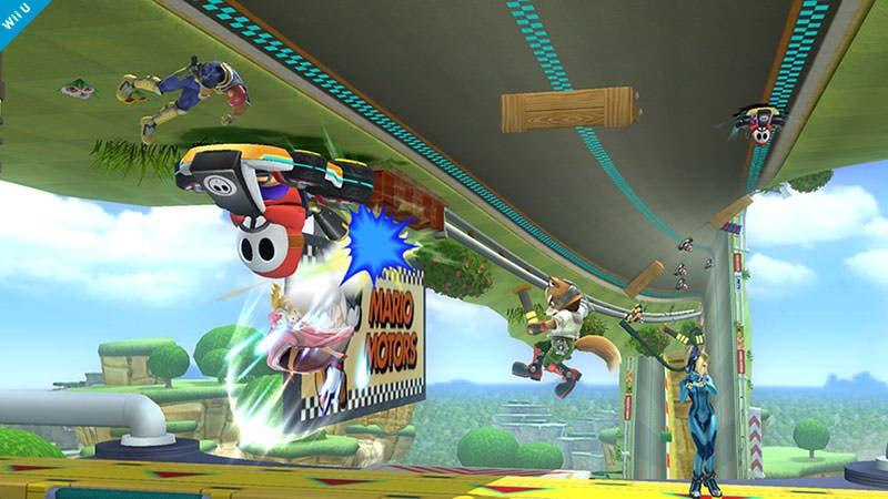 Detalles sobre el escenario 'Circuito Mario' en la 'Imagen del día' de Sakurai