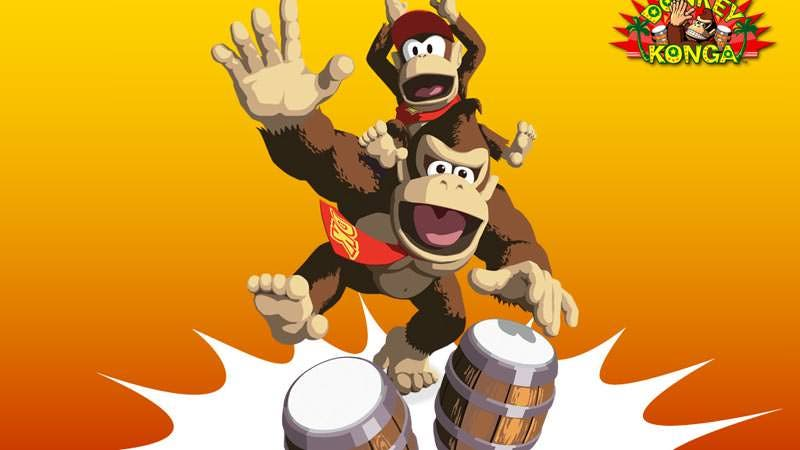 Los Bongos DK funcionan con 'Super Smash Bros. for Wii U'