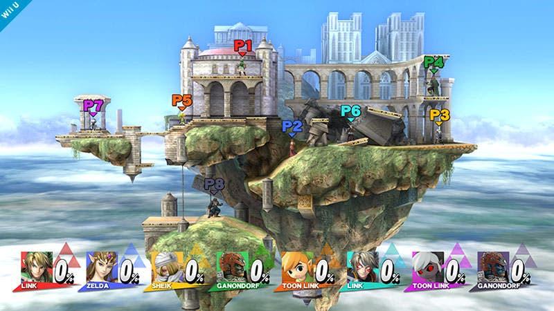 Ya disponible la actualización 1.0.2 de 'Super Smash Bros. for Wii U'