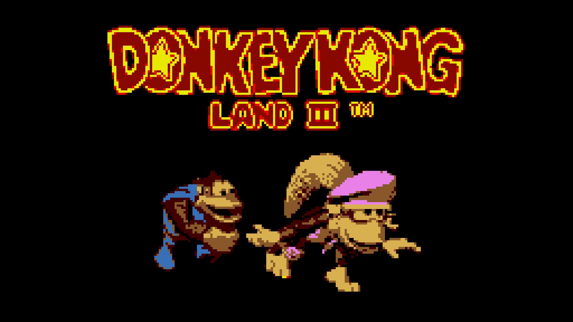 [Análisis] 'Donkey Kong Land III' (eShop 3DS)