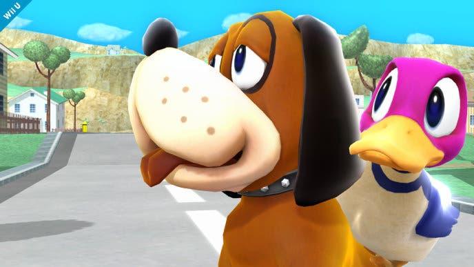 Nuevas imágenes del Dúo Duck Hunt y Jigglypuff en 'Super Smash Bros. for Wii U / 3DS'