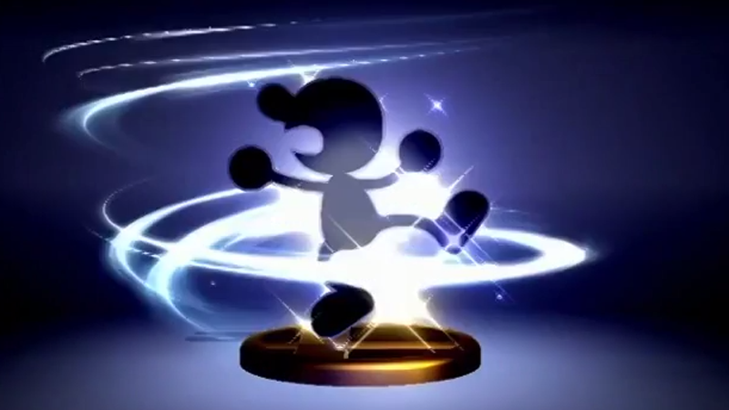 Mr. Game & Watch también parece tener datos de amiibo en 'Super Smash Bros. for Wii U'