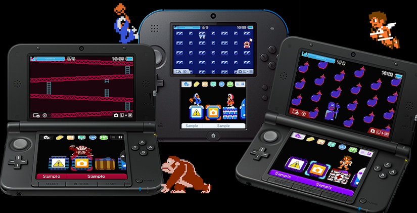Europa recibe tres nuevos temas retro para Nintendo 3DS