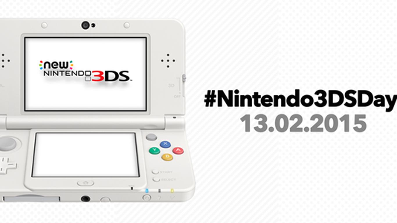 Este viernes 13 es el #Nintendo3DSDay