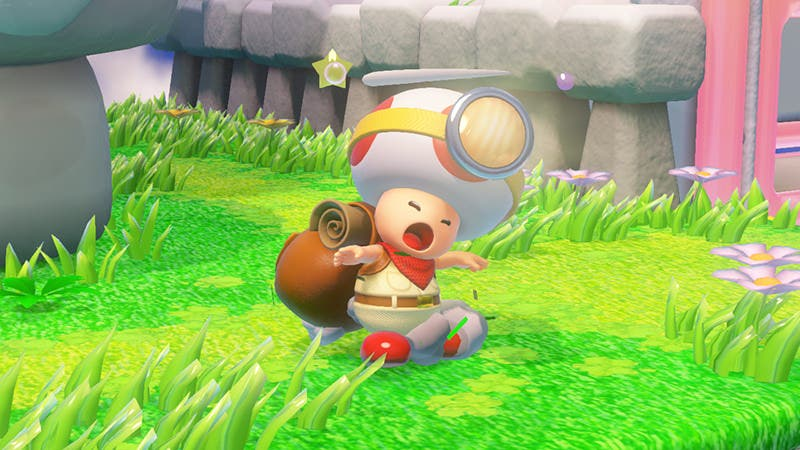 Así funciona el misterioso ataque giratorio de 'Captain Toad: Treasure Tracker'