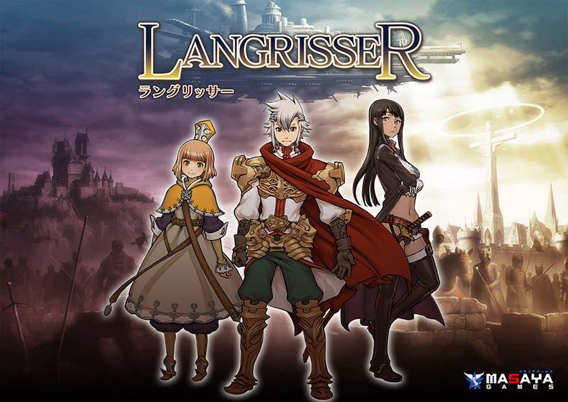 Imágenes y detalles de los personajes de 'Langrisser'