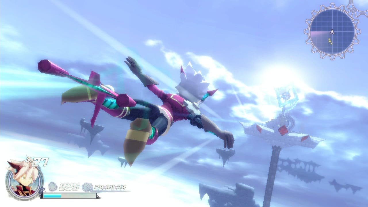 Nuevo gameplay de 'Rodea: The Sky Soldier' para Wii U y Nintendo 3DS
