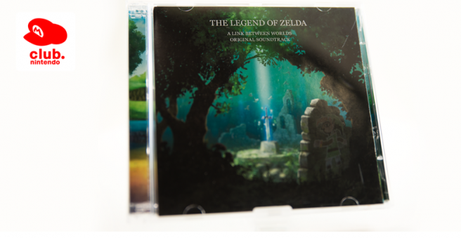 El Club Nintendo Europa repone la banda sonora de 'The Legend of Zelda: A Link Between Worlds'