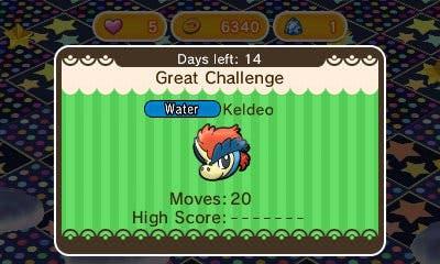 Ya disponible un nuevo evento de Keldeo en 'Pokémon Shuffle'