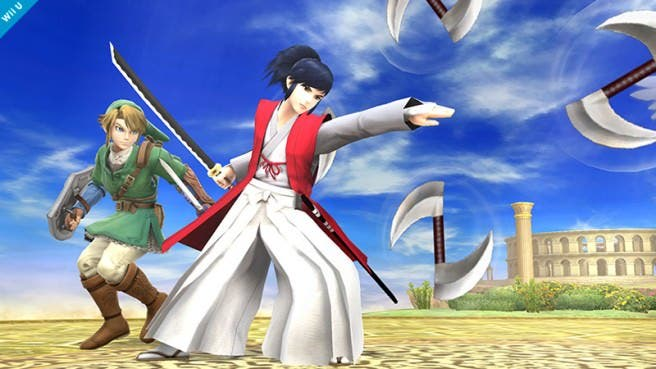 Takamaru fue considerado como newcomer en 'Super Smash Bros. for Wii U / 3DS'
