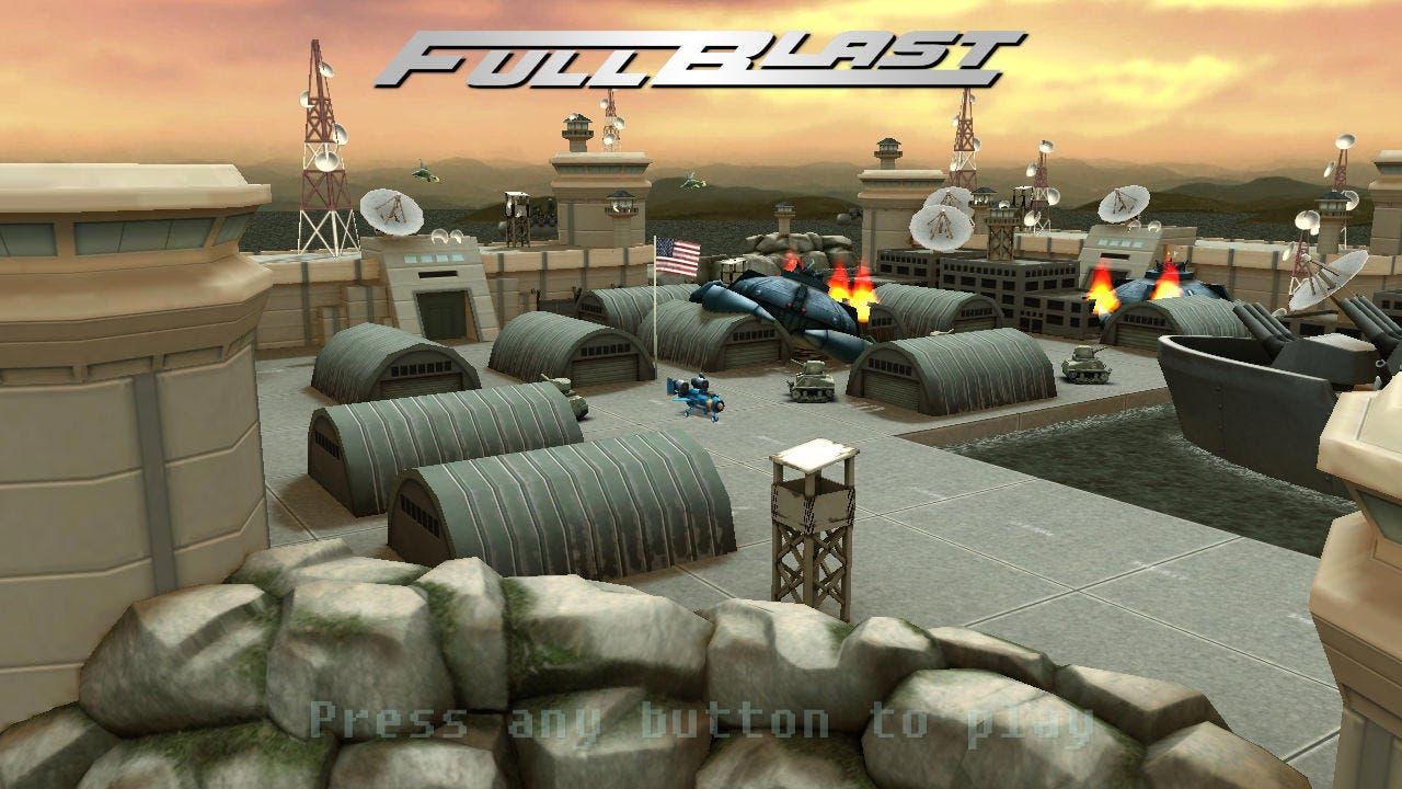 'Fullblast' llega a la eShop europea el 4 de Junio