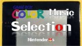 game boy color music selection