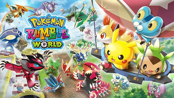 Diseño definitivo del boxart europeo de 'Pokémon Rumble World'