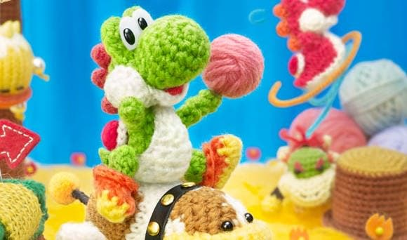 'Poochy & Yoshi's Woolly World' ya está disponible para su pre-descarga en la eShop japonesa de 3DS