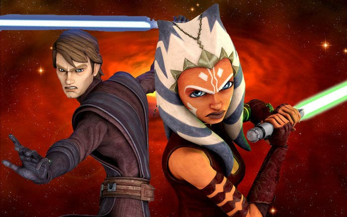 Anakin Skywalker y Ahsoka Tano de 'Star Wars' estarán presentes en 'Disney Infinity 3.0'