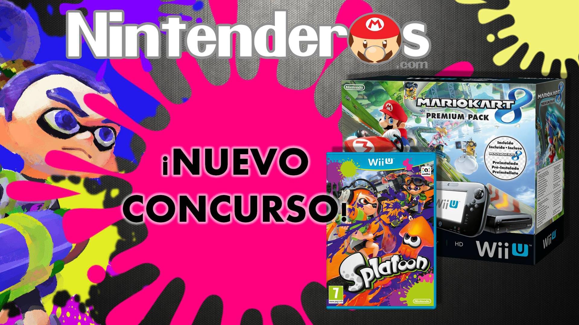 ¡Gana un Pack Premium de Wii U con 'Mario Kart 8' + 'Splatoon'!