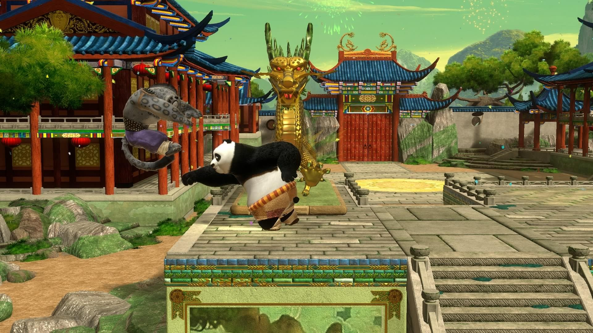 'Kung Fu Panda: Showdown of Legendary Legends' llegará a Wii U y 3DS este otoño