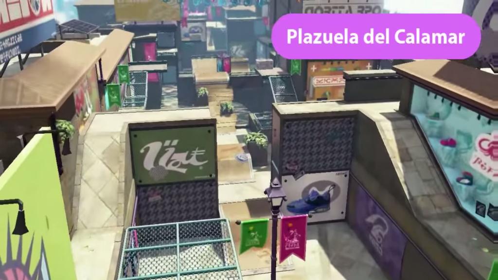 Plaza del calamar