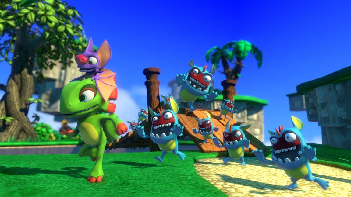 Nuevo gameplay off-screen de la demo de 'Yooka-Laylee'