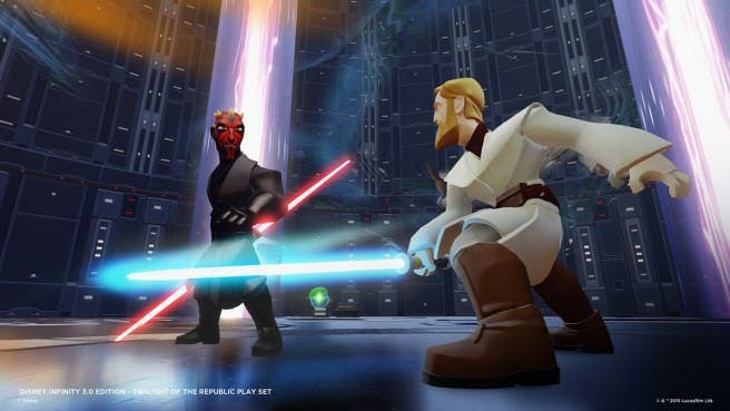 Nuevos detalles sobre el sistema de combate y el Play Set Twilight of the Republic de 'Disney Infinity 3.0'