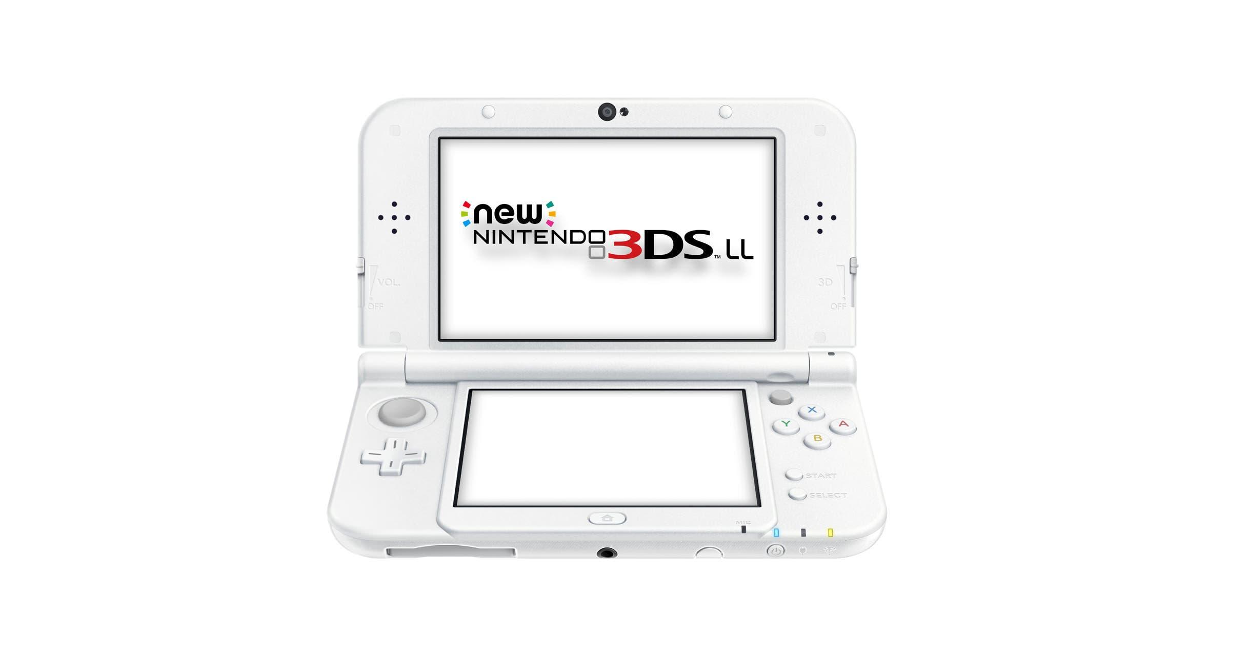 New Nintendo 3DS XL blanco perla llega a Japón
