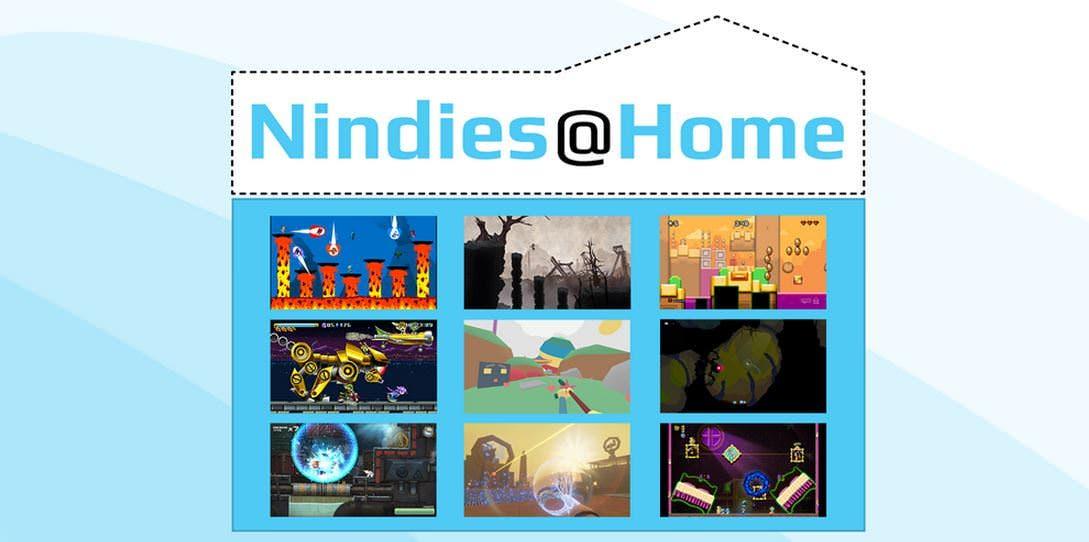 Nintendo anuncia la promoción Nindies@Home