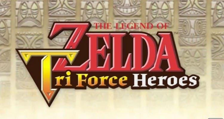 'Zelda: Tri Force Heroes' no tenía modo de un solo jugador originalmente